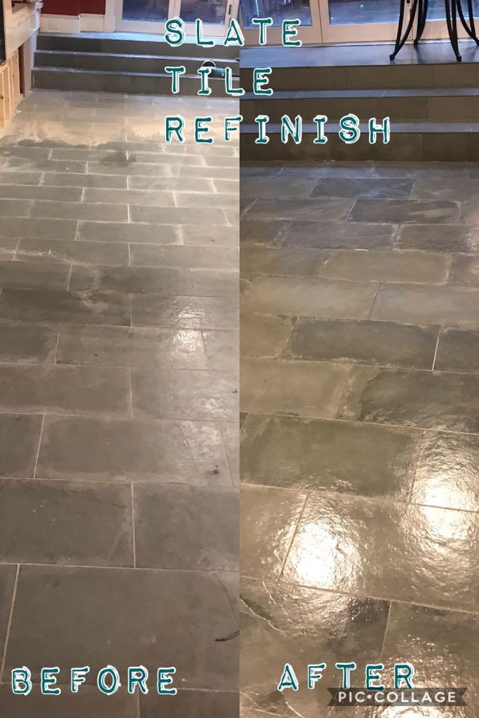 Slate Tile Refinishing